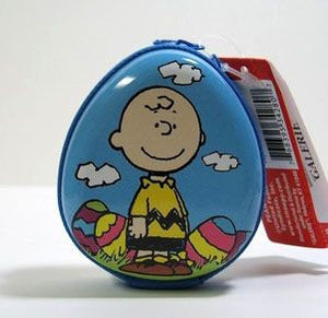 Charlie Brown Candy-Filled Easter Tin - REDUCED PRICE!