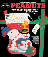 Peanuts Jeweled Christmas Stocking Kit -