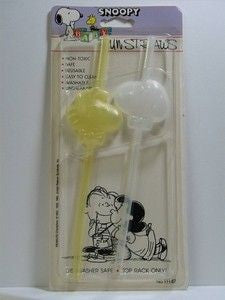 Snoopy Fun Straws
