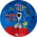 Snoopy Birthday Balloon - You're How Old?!