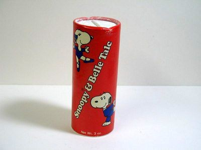 Snoopy and Belle Talc Powder