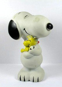 Snoopy Hugs Woodstock Squeeze Toy