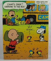 Peanuts Gang Leaving Camp Jigsaw Puzzle