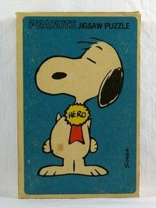 Snoopy - Hero Jigsaw Puzzle