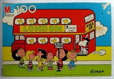 Peanuts Gang By The Bus Jigsaw Puzzle