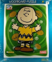 Charlie Brown Wood Puzzle