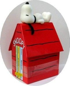 Snoopy's Doghouse Library - Set of Miniature Books