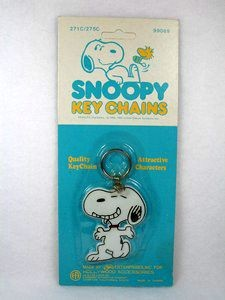 Aviva Key Chain - SNOOPY ON KNEE - SPECIAL LOW PRICE!
