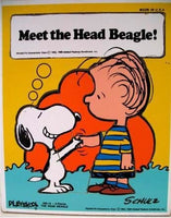 Snoopy and Linus Wood Puzzle -