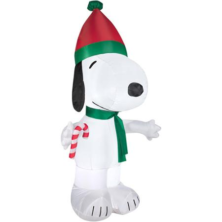 Holiday Snoopy Lighted Inflatable