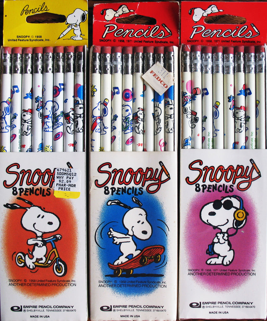 Snoopy 8-Pack Pencils