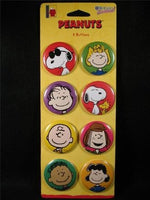 PEANUTS GANG PINBACK BUTTON SET - REDUCED PRICE!