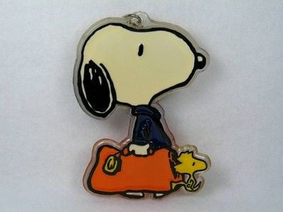 Snoopy Carrying Bag acrylic key chain