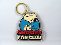 Snoopy Fan Club acrylic key chain