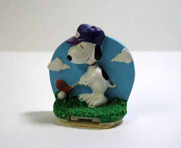 Snoopy Golfer PC Note Holder