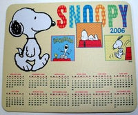 Mouse Pad - 2006 Snoopy Calendar - REDUCED PRICE!