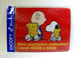 Mouse Pad - Charlie Brown and Snoopy