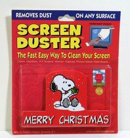 Merry Christmas PC Screen Duster - REDUCED PRICE!