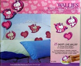 Snoopy Love Hearts Pre-Pasted Wallpaper Banner - ON SALE!