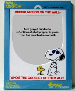 "Joe Cool Decorative Wall Mirror: ""Who's The Coolest...?"""