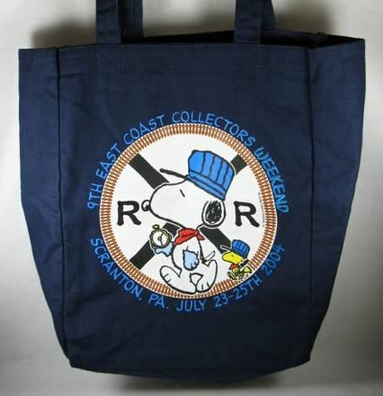 East Coast Collector's Tote Bag - Scranton PA (July 2004)