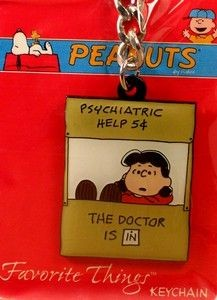 LUCY PSYCH BOOTH Key Chain