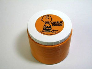 Charlie Brown - Orange Thermos