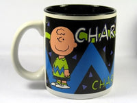 Personalized Black Mug - Charlie Brown