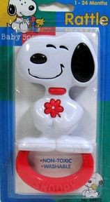 Snoopy Rattle