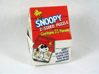 2000 Wendy's Fast Food Toy - Snoopy 2-Sided Puzzle