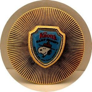 Knott's Camp Snoopy Badge Magnet