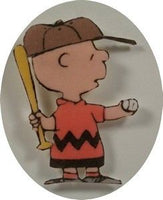 Charlie Brown Foam-Backed Pin