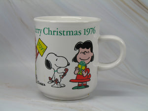 1976 Peanuts Gang Limited-Edition Christmas Mug