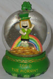 Willabee & Ward Peanuts Snow Globe - St. Patrick's Day