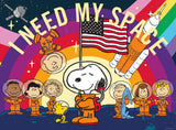 Peanuts Astronauts Jigsaw Puzzle - I Need My Space