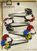 Snoopy Metal Hair Clip Set