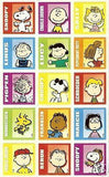 Peanuts Gang Block Stickers - Special Low Price!