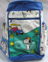 Snoopy Golf Bag-Shaped Large Diaper Bag - RARE!
