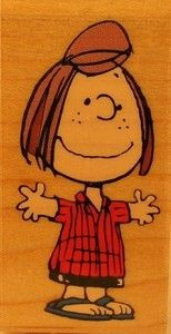 Peppermint Patty RUBBER STAMP