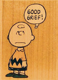 """Good Grief!"" RUBBER STAMP"