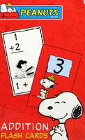 Peanuts Gang Flash Cards - Addition