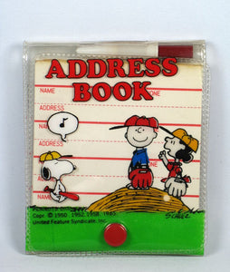 Peanuts Gang Mini Address Book