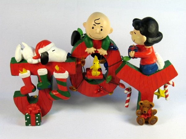 "Peanuts Gang ""JOY"" Table Piece"