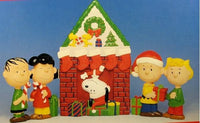 Peanuts Gang Christmas Table Screen