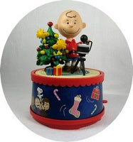 CHARLIE BROWN PHOTOGRAPHER Music Box - Wish You a Merry X-Mas