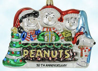 ADLER PEANUTS GANG 50TH ANNIVERSARY POLONAISE CHRISTMAS ORNAMENT