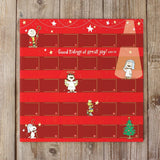Peanuts Christmas Pageant Advent Calendar