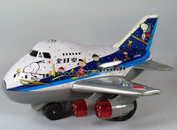 Peanuts JA8961 Motorized Tin Airplane With Working Lights