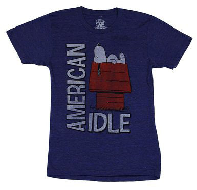 Snoopy American Idle T-Shirt