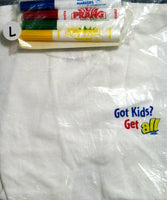 ALL Detergent Youth Coloring T-Shirt